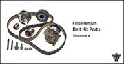 Timing Belt Kit with Water Pump - PartsAvatar